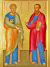 Два пути. Святым первоверховным апостолам Петру и Павлу.